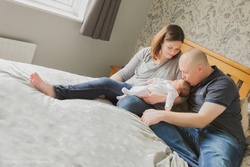 Newborn baby photography in Horsham