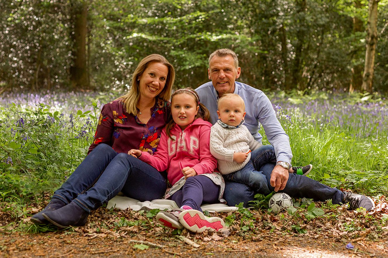 Spring family photo sessions in Sussex