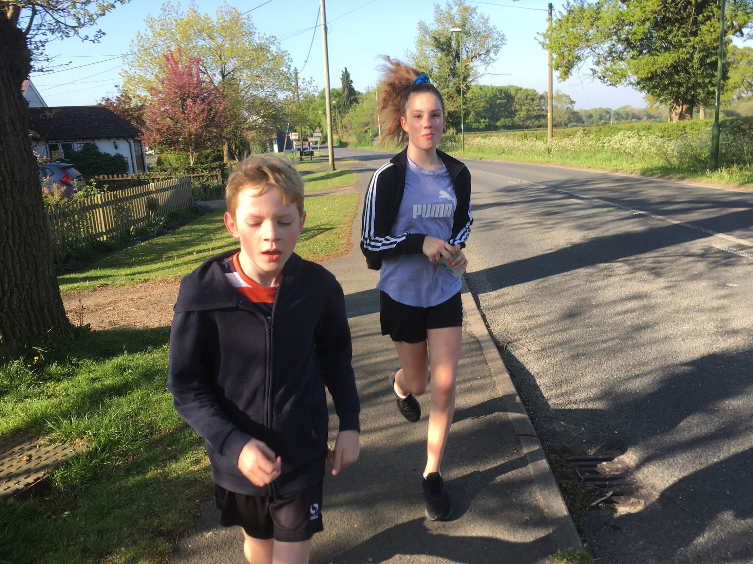 running 5km for NHS