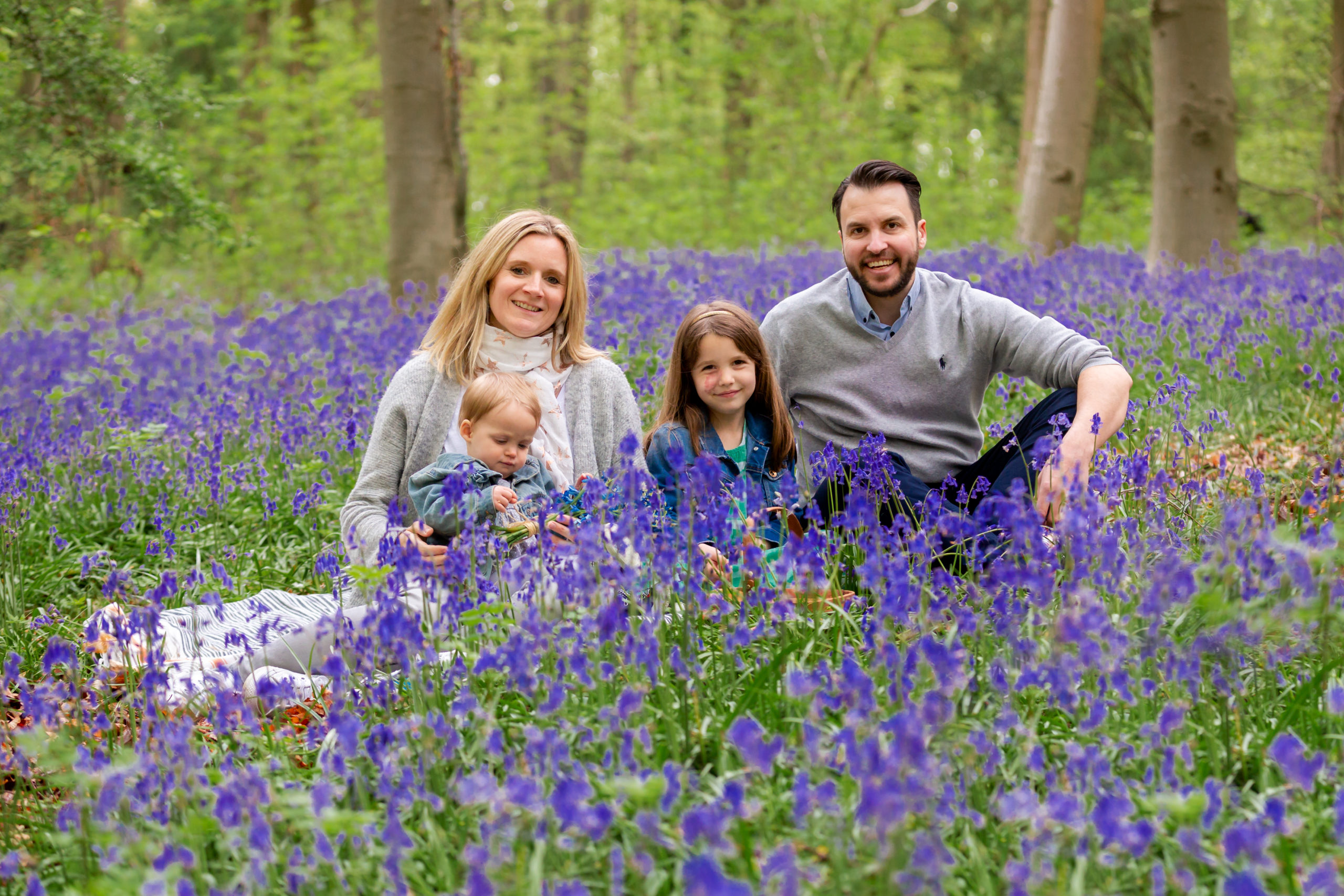 what to wear for a bluebell photo session