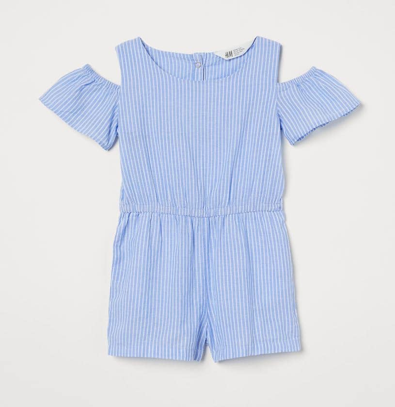 Girls Play suit H & M