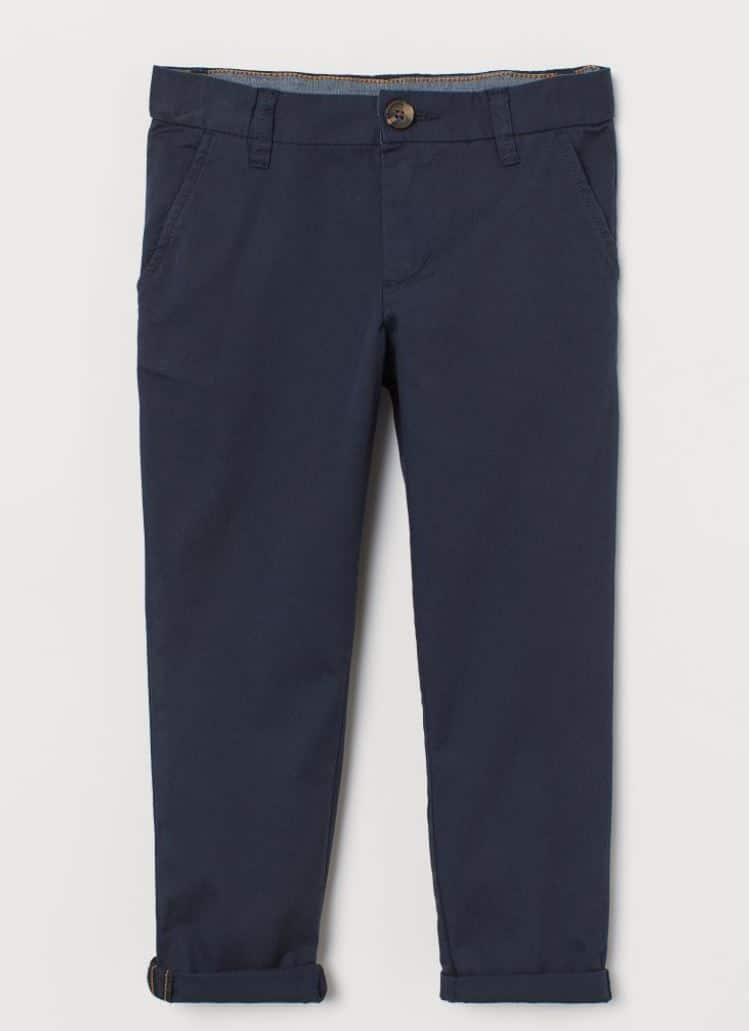 H&M boys blue chinos