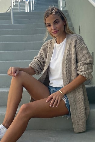 Next beige cardigan